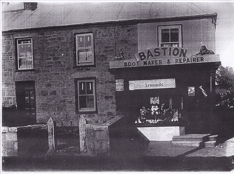 John Bastion's cobbler's shop in Troon
