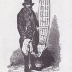 Street literature seller from Mayhew's London Labour and the London Poor