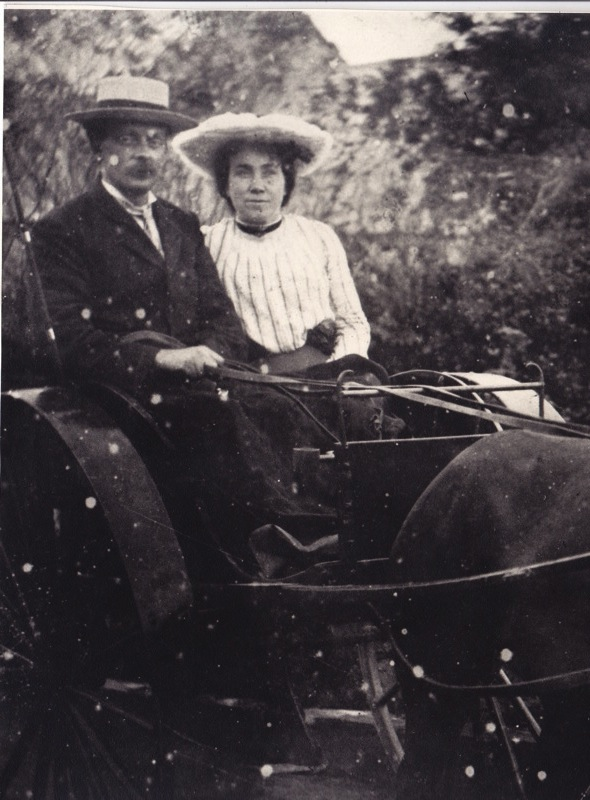 Mary and John in the early years of marriage