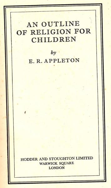 Appleton frontispiece
