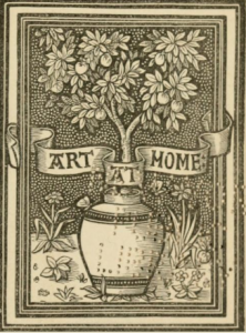 Frontispiece detail from W.J. Loftie: A Plea for Art at Home