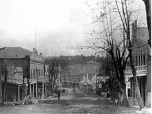 Grass Valley, California during the gold boom.