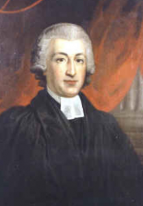 James Woodforde, portrait by his nephew, Samuel, 1740.
