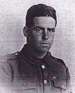 Jack in uniform, 1915