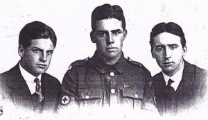 My father (L), Jack (Centre) and Morley( R) in 1914
