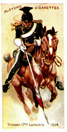 Players Cigarette card, 1915