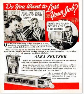 1930s Alka-Seltzer advertisement