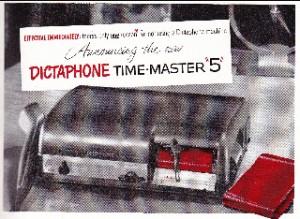 Dictaphone, 1951