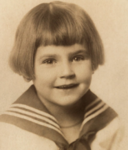Elizabeth Bishop in childhood
